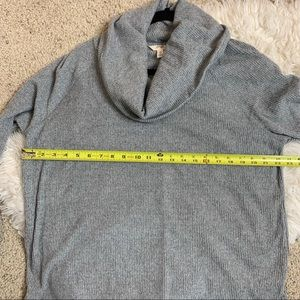 Terra & Sky Sweaters - [terra & sky] Cowl Neck Sweater NWT